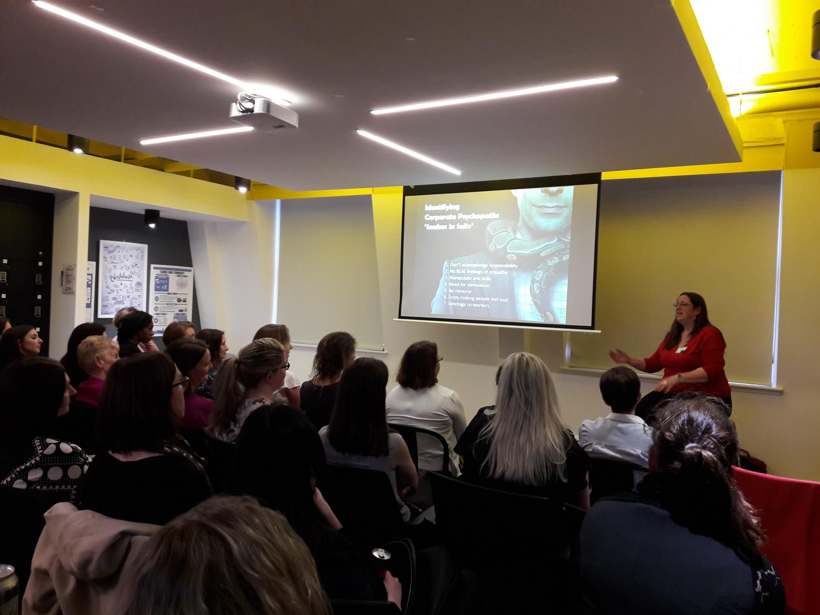 WIBF   Events   Edinburgh: Surviving Psychopaths – And What To Do When Your  Boss Is A Sociopath!