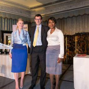 Alan Haywood, BP group treasurer, was named WIBF Champion for Women